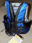 DBX Vector Series Blue Adult Life Vest 4 Buckle Nylon -Sizes Large/X-Large - NWT