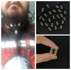 Different Kinds of Viking Rune Beads Beads DIY Jewelry or Hair Beard 24pcs