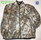 ZooFleece Snow White Winter Camouflage Jacket Coat Sweater Unisex Hunting USA