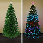 7' Artificial Christmas Tree w Metal Stand Undecorated Decorated Tall Pine Fir
