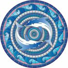 """20+ Designs, 29"""" Decorative Pool Mat, Mosaic Art, Undemanding to Install and Remove"""
