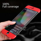 iphone 5 phone cases - Slim 360° Shockproof Dustproof Phone Case Cover For iPhone X 8 6 6s 7 Plus 5s SE