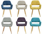 Designed Lint Dining Chair Cusion Padded Metal Legs Display Coffee Shop Chair