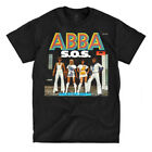 ABBA S.O.S - Black Shirt - Ships Fast! High Quality! Active