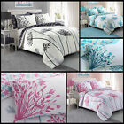 Meadow Floral Luxury Duvet Covers Quilt Cover Reversible Bedding Sets (207)