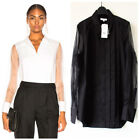 NWT Equipment Jack Pleated Semisheer Cotton Shirt, $300