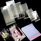 Clear Resealable Opp Bags Party Candy Gift Jewelry Art Crafts Coins Toys Storage