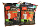 6 pack hanes mens black t shirts choose your size image