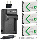 Kastar Battery and Normal Charger Kit for Sony NP-BX1 Type X CyberShot DSC RX100
