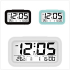 Digital LED Alarm Clock Snooze Large Display Battery Operated For Heavy Sleeper