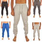Mens Fleece Tracksuit Bottoms Skinny Jogging Joggers Sweat Pants Gym Trousers