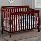 5-in-1 Baby Convertible Crib Child Nursery Side Bed Toddler Daybed Furniture