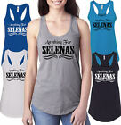 Anything for Selenas Womens Racerback Tank top Flowy Suede shirt Fashion Clothes