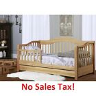 Toddler Bed with Storage Drawer Daybed Kids Girls Boys Baby Bedroom Furniture