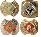 Cub Scouts Uniform Slide BSA Tiger Wolf Bear Webelos Neckerchief Clip Official