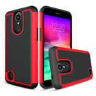 For LG Harmony / K20 Plus / K20 V Shockproof Hybrid Impact Hard Phone Case Cover