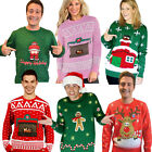 Digital Dudz Novelty Ugly Christmas Sweater Moving Animated Images Xmas Jumper