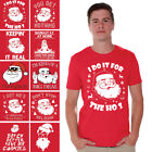Santa Shirt Ugly Christmas Tshirt for Men Funny Santa Tshirt for Christmas Party