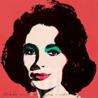 "24W""x24H"" LIZ 1964 by ANDY WARHOL - ELIZABETH TAYLOR CLEOPATRA CHOICES of CANVAS"