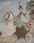 VTG Kay Nielson Print from The 12 Dancing Princesses * 7.5