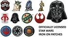 Star Wars Iron On Embroidered Patches - Officially Licensed #134 $4.95 USD on eBay