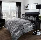 New York Skyline Duvet Set Quilt Cover Pillow Cases Bedding Sets All Sizes