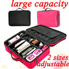 Professional Cosmetic Makeup Case Bag Storage Box Carry Beauty Organiser Travel