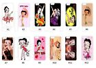 New Betty Boop Case for iPhone 4 5G 5C 6 7 8 X Galaxy S3 S4 S5 S6 S7 S8 Ipod $9.99 USD