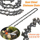 "18"" CHAINSAW CHAIN SEMI CHISEL 0.325"" 0.063"" 68 DRIVE LINKS FOR STIHL 025 MS250"