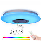 LED 36W Ceiling Light Remote Control with Bluetooth Speaker APP Chandelier Lamp