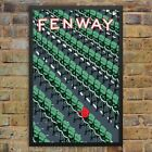 Fenway Park Ted Williams Red Seat Print