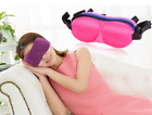 Comfortable Blindfold Sleeping Mask 3D Shape No Pressure For Eye Mask