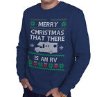 Merry Christmas That There is an RV Funny Motorhome Sweatshirt Campervan CH57