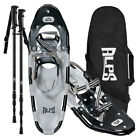 ALPS Adult  Carbon Snowshoes  + Pair Snowshoeing Pole +  Free Carrying Tote Bag