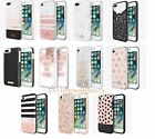 Kate Spade Flexible Liquid Glitter Wrap Lace Cage Case for iPhone 8 & 7 Plus NEW