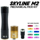 Skyline M2 Mechanical MOD 18650 Body with Doge V2 RDA and Delrin Drip Tip