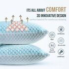 🥇Cooling Memory Foam Pillow Ventilated Soft Bed Pillow Infused with Cooling Gel image
