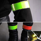 2PCs Reflective Band Outdoor Cycling Safety Fluorescent Arm / Leg Strap Armband