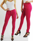 New Women's Stretchy Skinny Pink Legging Ladies Sexy Fit Girls Jeggings Trousers
