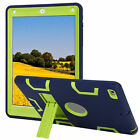 iPad Case Cover Shockproof Military Cool Rubber Hard Stand Protective for Apple