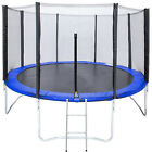 fitness trampolines - Trampoline Combo With Safety Net Outdoor Fitness Equipment 12Ft 14Ft 15Ft 16Ft