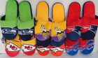 NFL Men's Colorblock Slide Slippers House Shoes by Forever Collectibles on eBay