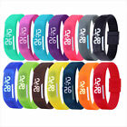 Multifunction LED Sport Electronic Digital Wrist Watch For Child Boy Girl Kids image