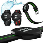 Waterproof Heart Rate Monitor G-Sensor Pedometer Call Reminder Sport Smart Watch