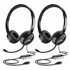 headphones with usb - Mpow  3.5mm USB Headset Computer Headphone with Microphone Noise Cancelling US