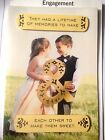 ENGAGEMENT Congratulations Card Choice of 9 for Friend/ Son/ Daughter 74