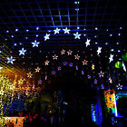 2M Shiny Lights LED Star Curtain String Lamp for Christmas Xmas Wedding Decor