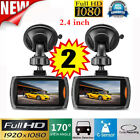 "HD 1080P 2.4""/2.2'' Car DVR Vehicle Camera Video Recorder Dash Cam Night Vision"