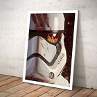 Star Wars FN-2187 Finn Stormtrooper Jedi Poster Print Art Artwork A3 A4 - Framed $55.95 AUD