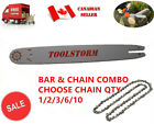 "NEW 14"" CHAINSAW BAR & CHAIN COMBO 3/8"" LOW PROFILE 0.043"" 50DL FOR STIHL"